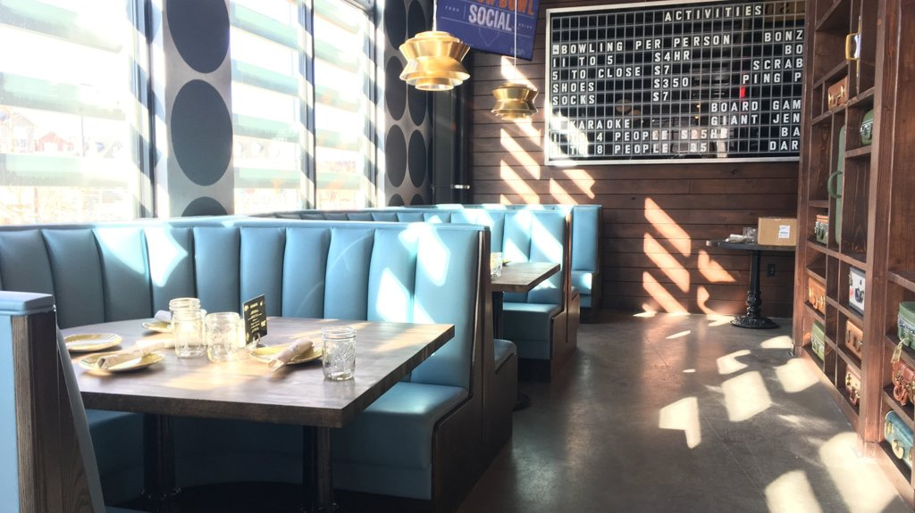 CEO of Punch Bowl Social gives tour of Stapleton location