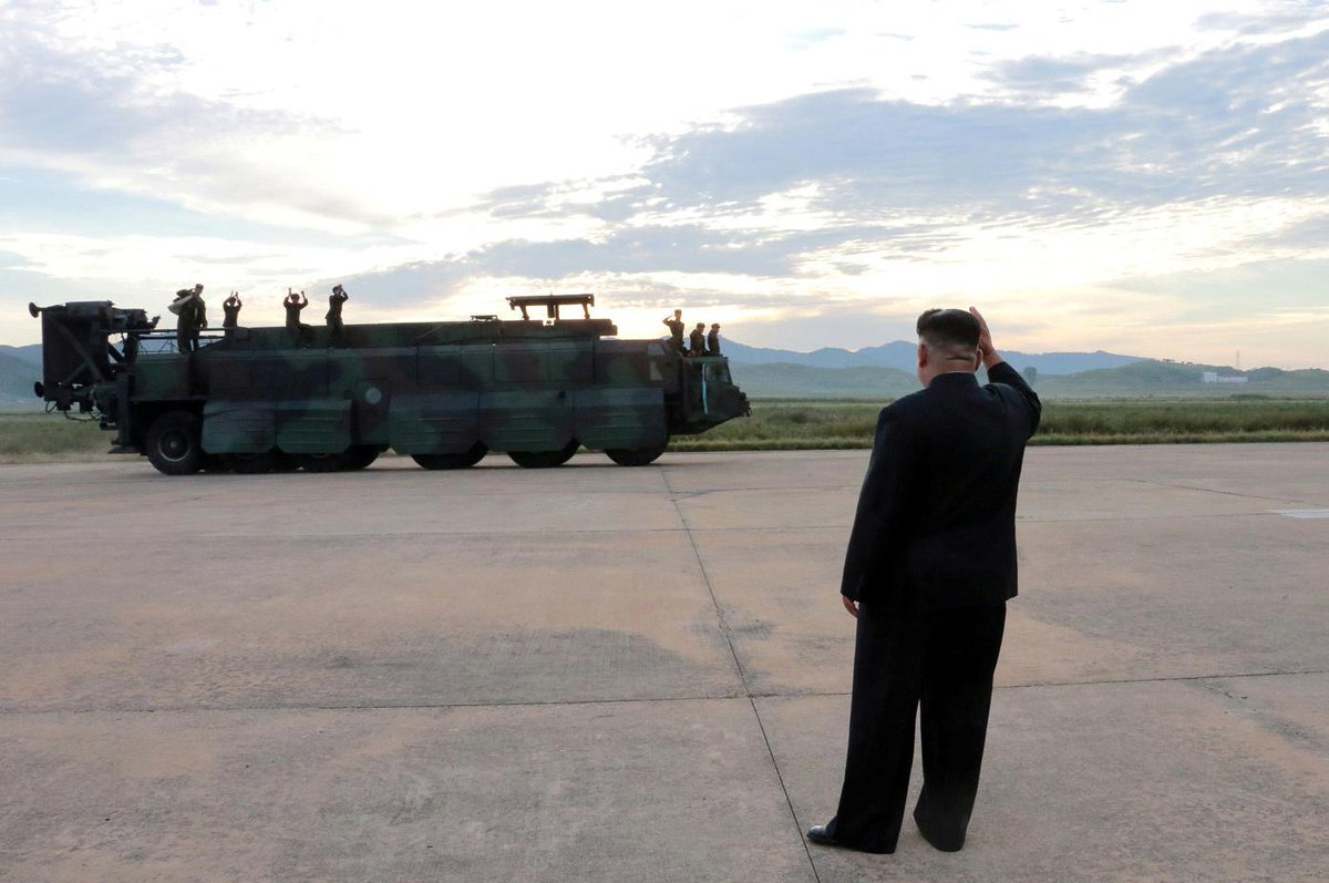 North Korea says it might give up nuclear weapons if the U.S. does so first