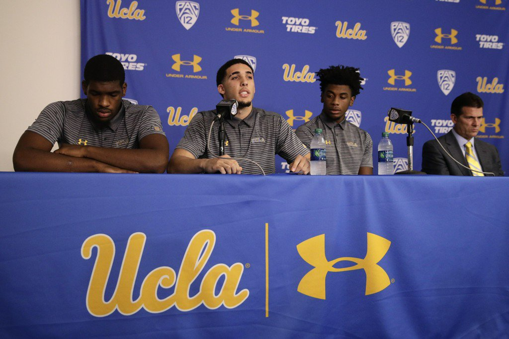 UCLA basketball players apologize for shoplifting in China, thank Trump