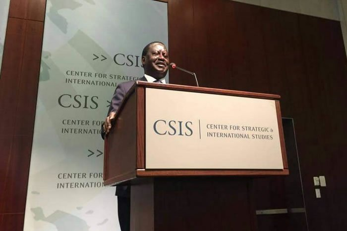 Raila Odinga message to Kenyans before his return from the US