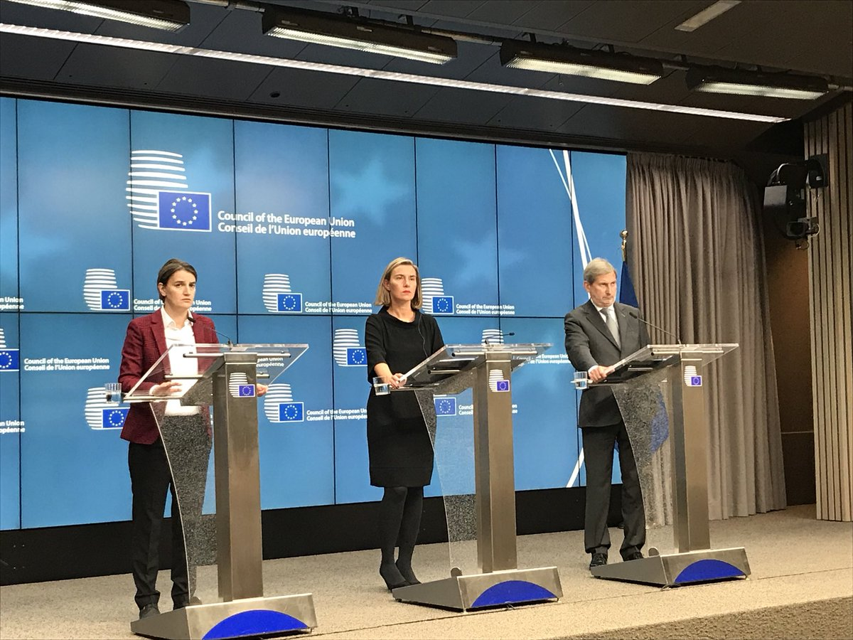 test Twitter Media - #EU #Serbia @FedericaMog Common strategic goal and interest is making Belgrade's path towards EU integration irreversible. Extremely good process and progresses. Reforms and regional reconciliation are key. EU commitment stronger than ever @SerbianPM @JHahnEU https://t.co/XEI4V6UB3f