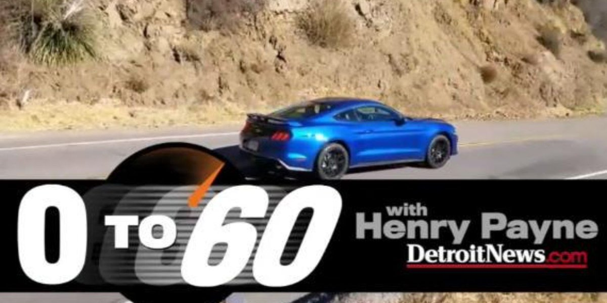 Henry Payne goes 0-60 in Turbo-4 and V8 Ford Mustangs