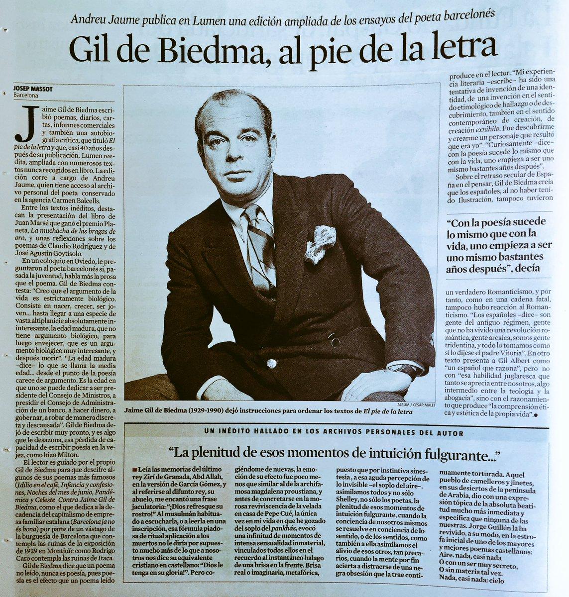 RT @TorrasLuis: Todo lo que toca Andreu Jaume gana enteros. @meigul https://t.co/iDCzfNoNuf