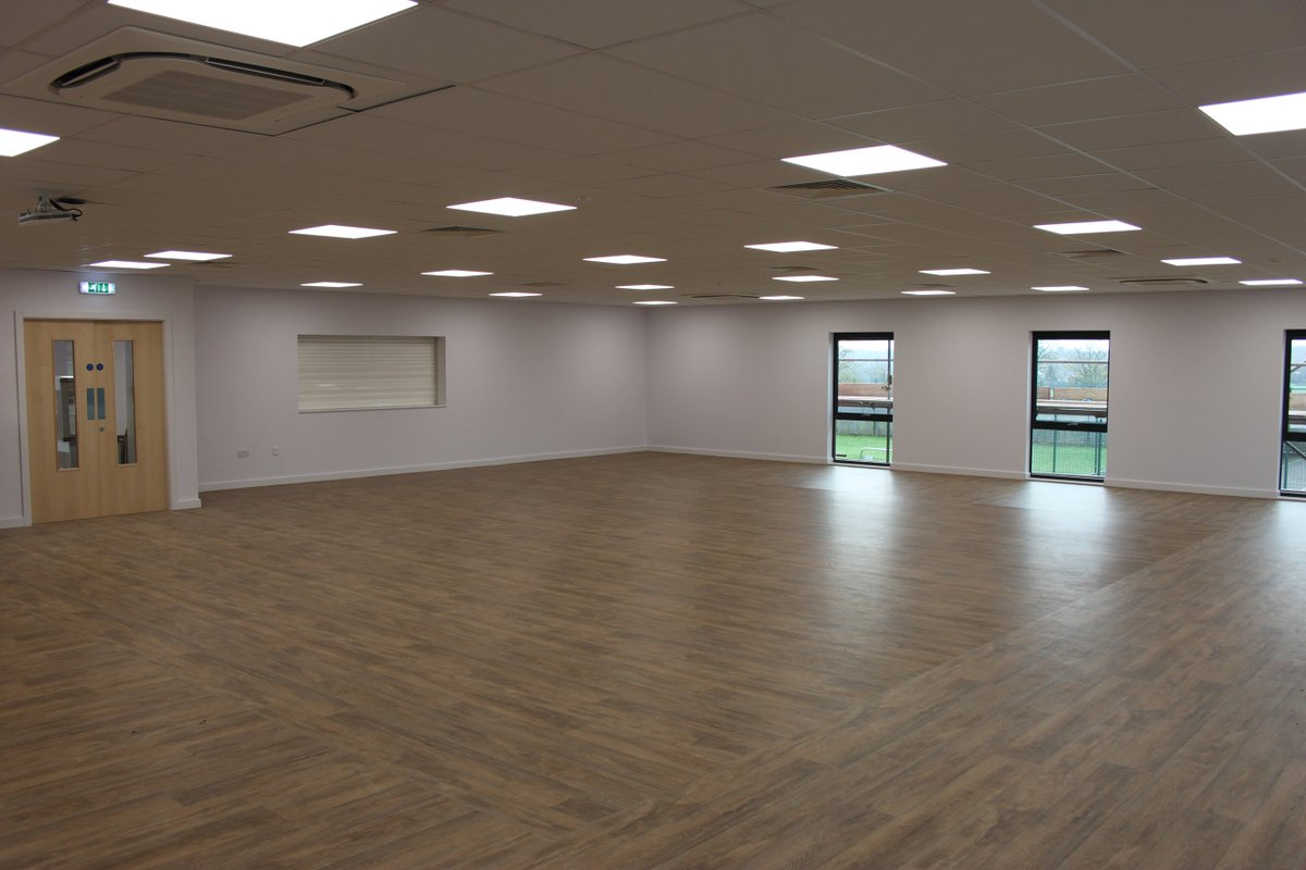 The first lessons have taken place this week in our new dance/drama space. It's looking good! https://t.co/mqNWLQYSA6