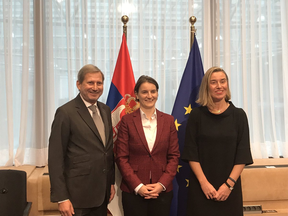 test Twitter Media - #EU #Serbia Stabilisation and Association Council meets in Brussels today: press conference by @FedericaMog @SerbianPM @anabrnabic @JHahnEU inna few minutes https://t.co/IycGGKq9tp
