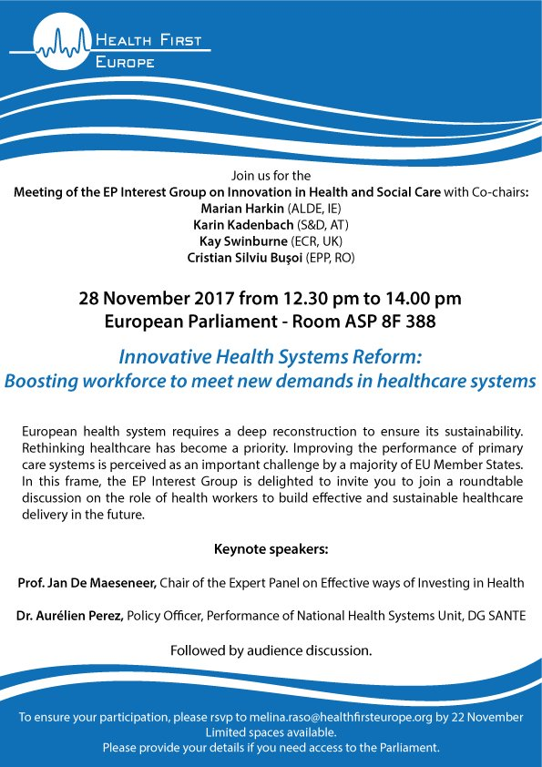 test Twitter Media - Last days to register for the next meeting of the #EuropeanParliament Interest Group on #innovation in #health and #socialcare! More info https://t.co/bxzwxep4NC https://t.co/JUXZzO6eyZ