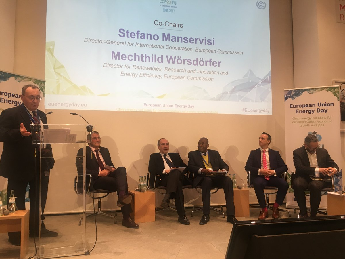 test Twitter Media - .@stefanomanservi at #COP23: To make EU-Africa Partnership on clean energy succeed, we need to bring together both public and private sector as well as our citizens. https://t.co/ozffuhk9w8