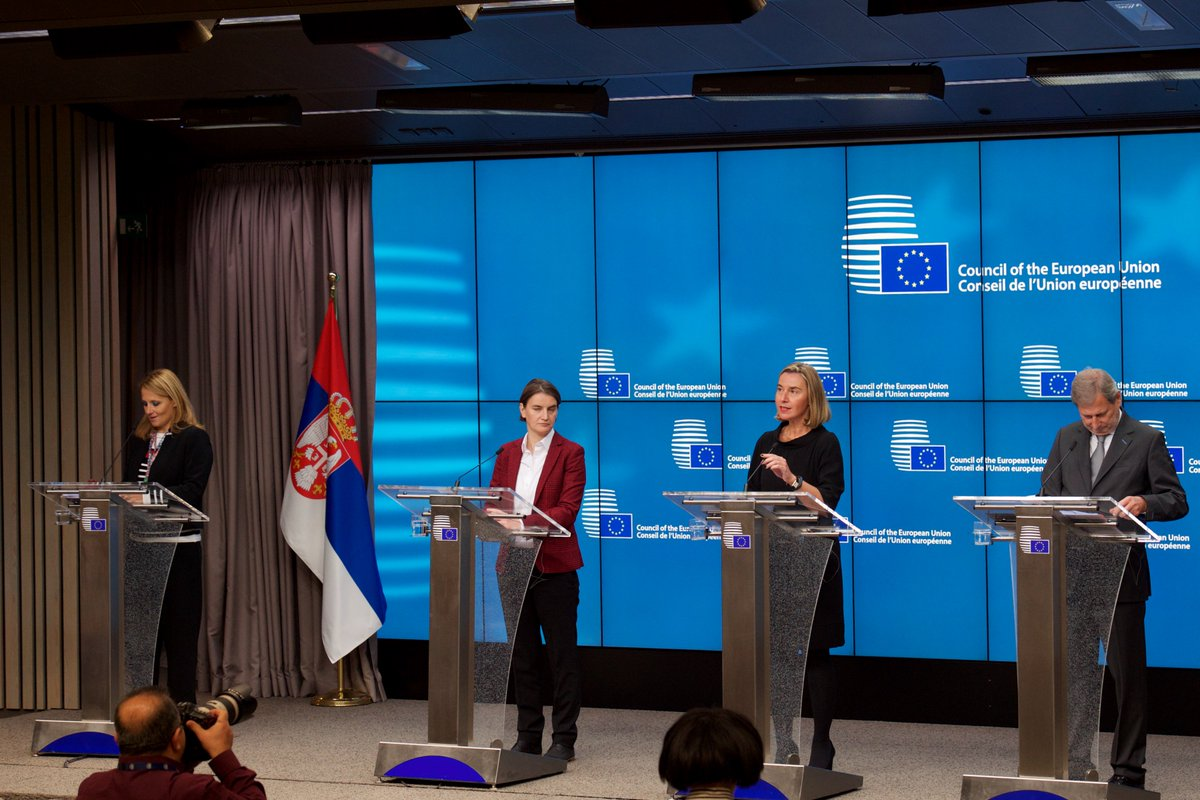 test Twitter Media - 🇪🇺🇷🇸 Text of the remarks by @FedericaMog at the press conference following the 4th EU-Serbia Stabilisation and Association Council ➡️ https://t.co/TV8FFPtbpq Watch the full video ▶️ https://t.co/A7U2cCsytJ https://t.co/VfShn4K90o