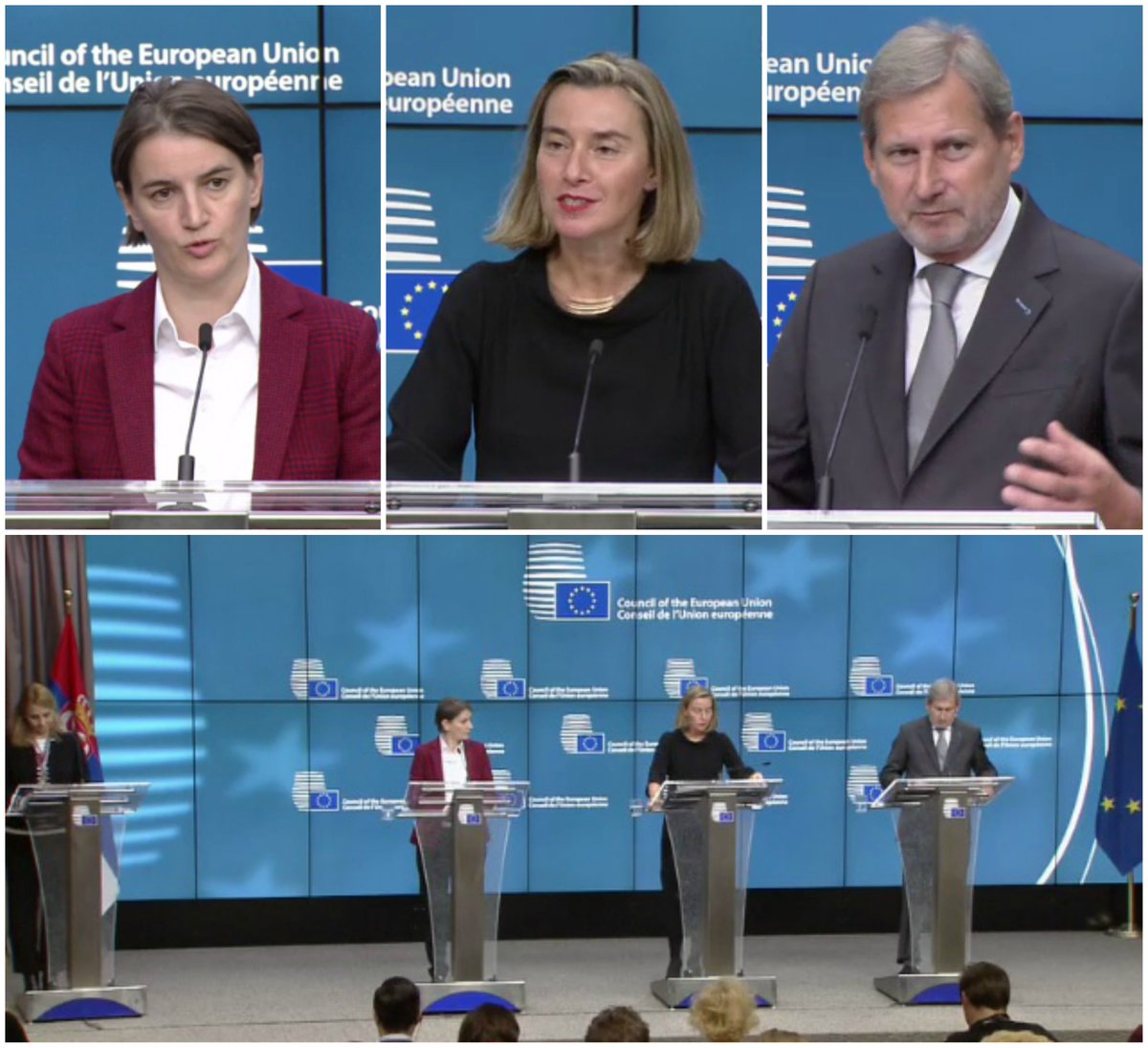 test Twitter Media - In case you missed it:📹Watch #EU-Commissioner @JHahnEU's opening remarks at the joint Press conference with @FedericaMog & @SerbianPM following the🇪🇺🇷🇸#EU-#Serbia Stabilisation and Association Council➡️https://t.co/sDYWqzjNys https://t.co/xIZ6cOOioc