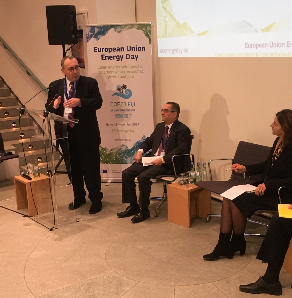 test Twitter Media - .@stefanomanservi at #COP23: Small islands have a huge potential to become champions of green growth and to lead with their paradigm the global efforts in this direction. https://t.co/nsnURFECaz