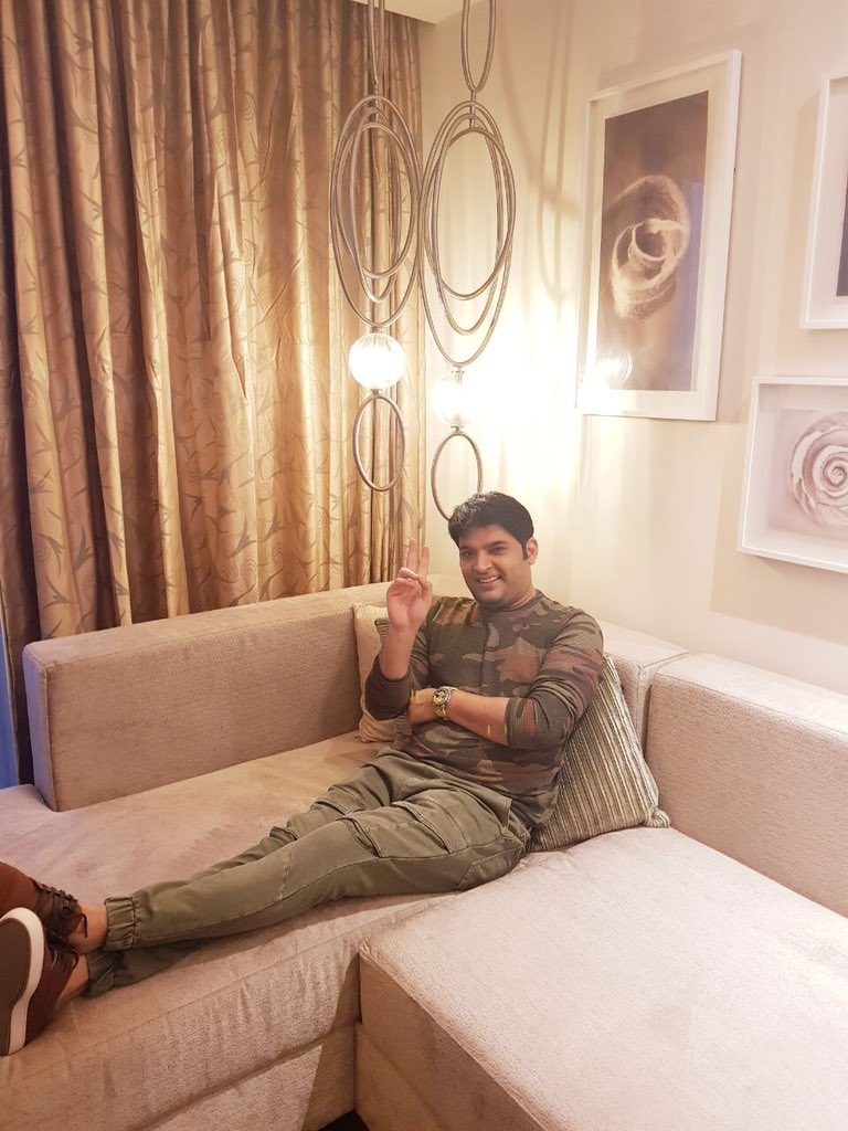 Two interviews more then back to mumbai n a special event for firangi on @SonyTV #FirangiOnNov24