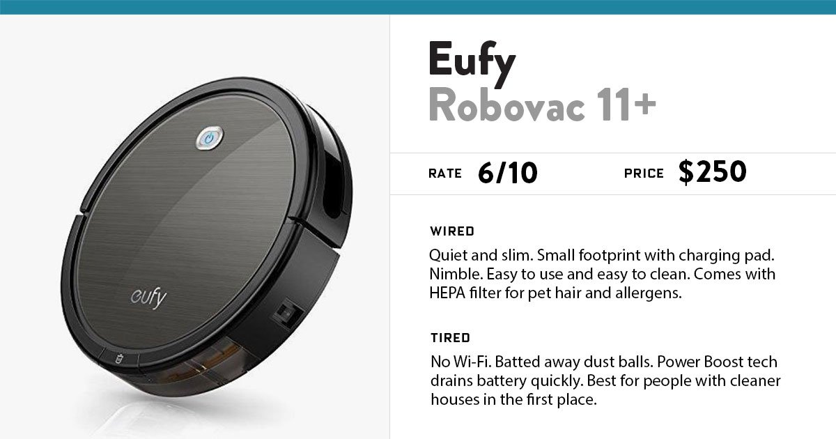 Review: Eufyu0027s Newest Robot Vacuum Is Good Looking, Quiet, Simple...and  Dustball Phobic   Scoopnest.com