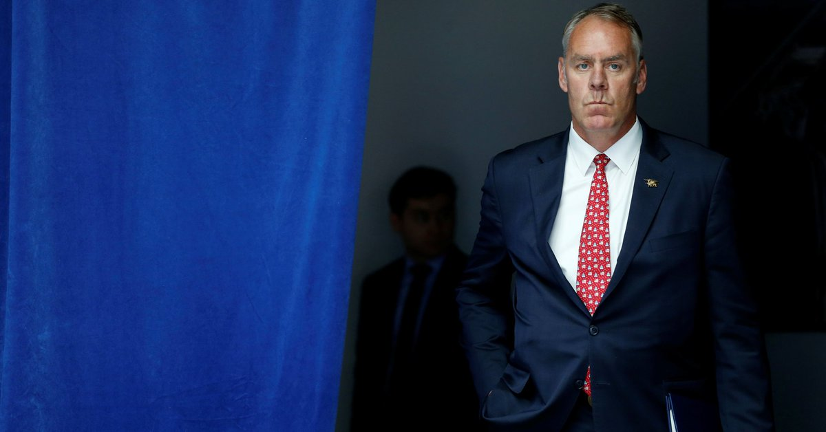 Interior secretary failed to keep proper travel records, watchdog group says