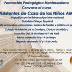 CURSO DE ASISTENTES DE CASA DE LOS NIÑOS https://t.co/wnuahiEJDP