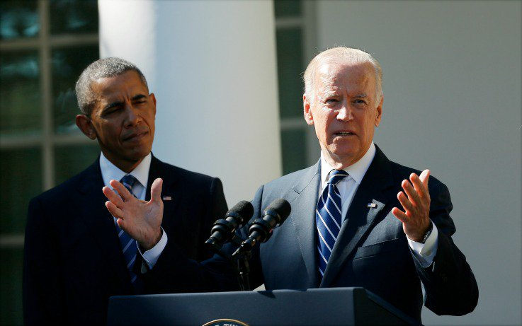 "Biden says the memes about him and Obama are ""all true"""