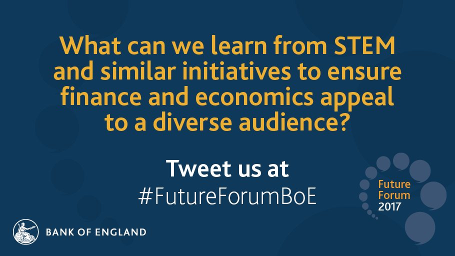 Join in the discussion and share your views using #FutureForumBoE. https://t.co/nHoY9ylNd8 https://t.co/OrF2feTTb8