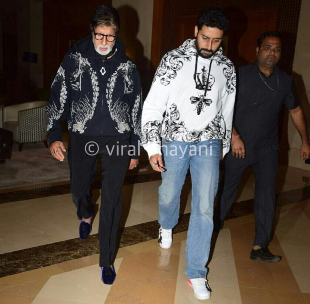 T 2712 - Hoodied together .. stepping together .. best foot forward .. Father and Son .. the best friends ever .. !!