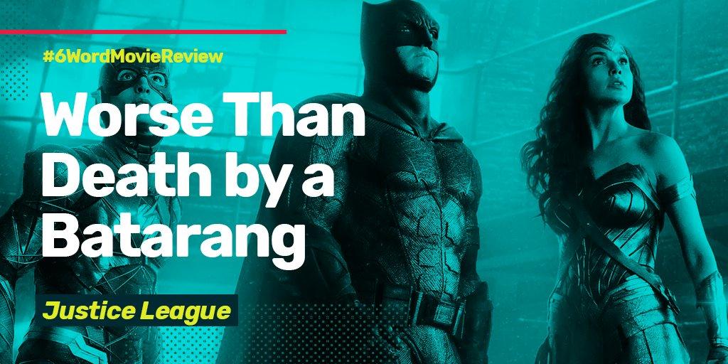 My favorite Justice League rev justice league review