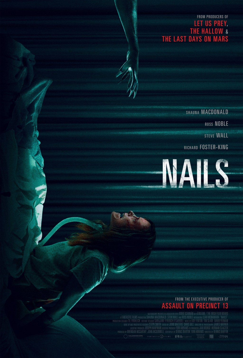'Nails' Creeps Into a Hospital Room In This Exclusive Clip https://t.co/uNGbjn2hFf https://t.co/Urw3QJdEWc