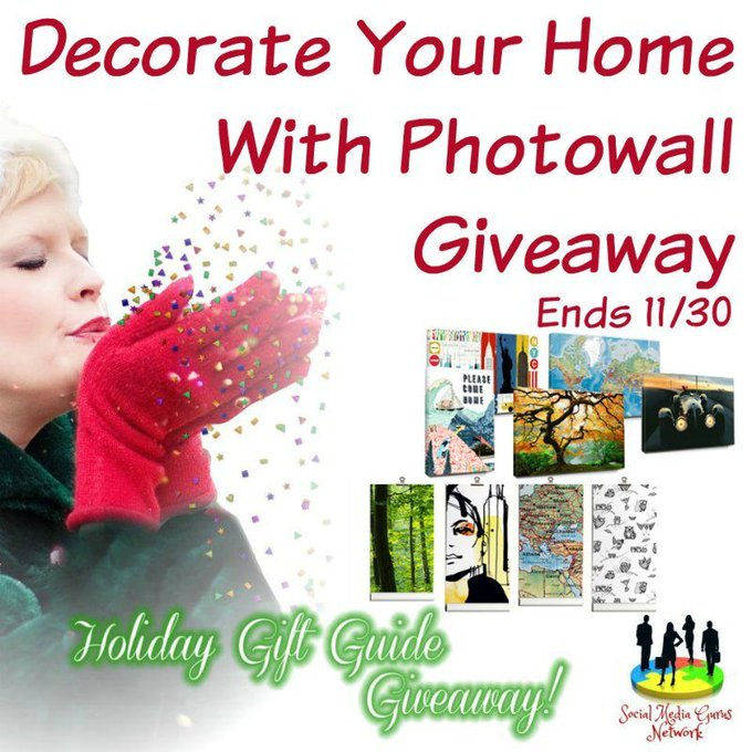 Decorate Your Home With Photowall #Giveaway Ends 11/30 -