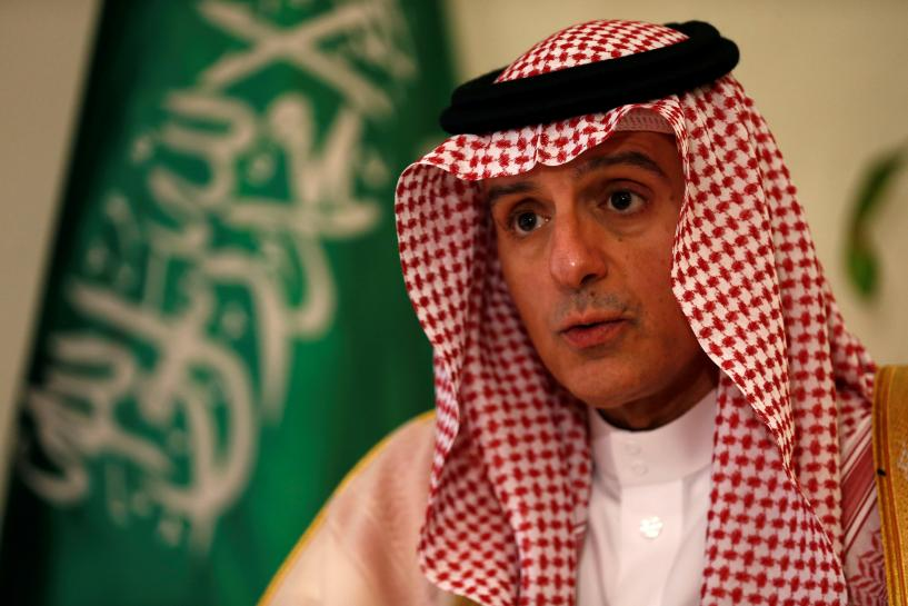 Saudi foreign minister says message to Iran is: 'enough is enough'