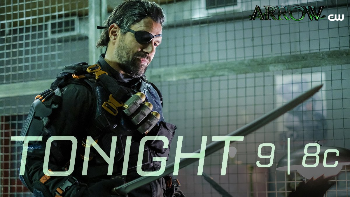 RT @CW_Arrow: Slade always keeps his promises. A new #Arrow starts in ONE HOUR on The CW. @manubennett https://t.co/DP1fielGqq
