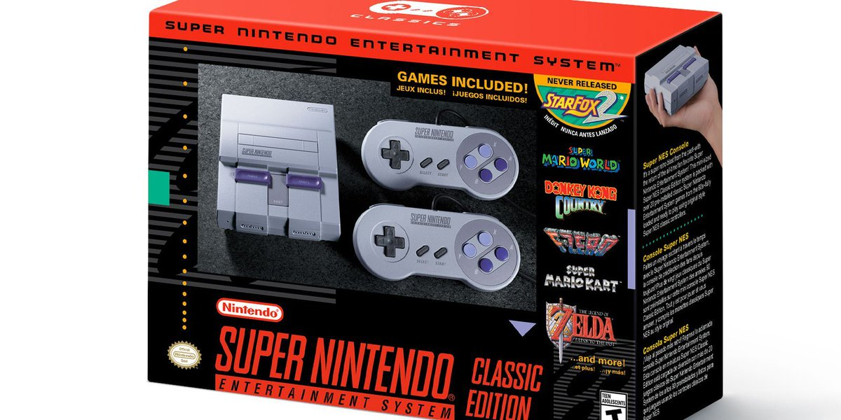 Nintendo's SNES classic will be back in stock at Walmart this week