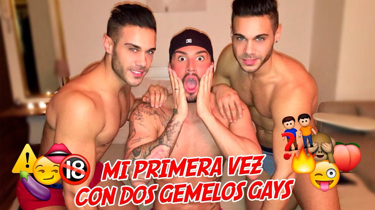 OMG 🤤 ! My first time with 2 gay twins !!! kDU61H9woN 👈🏻💦 you can see right now ! ! ❌🚫🚫