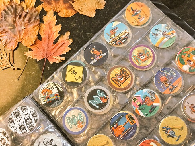 I still own #Pogs 🤘😅 #ThingsInMyBoxes #Unpacking https://t.co/HBGZBksqWC
