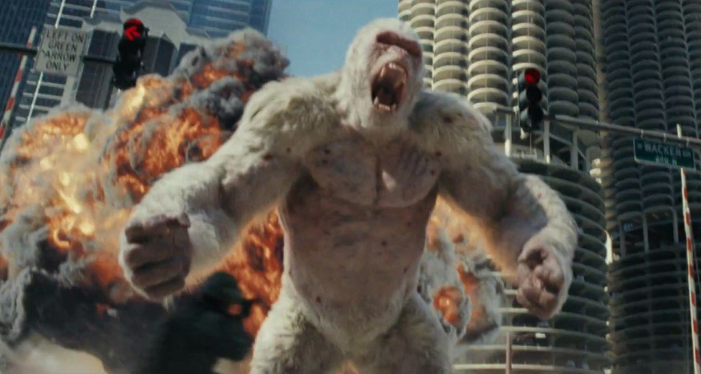 Massive Monster Mayhem Unleashed in Wildly Entertaining 'Rampage' Trailer https://t.co/eDOgSyac6R https://t.co/G7MqnEcCFf