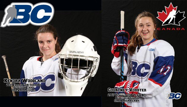 test Twitter Media - Two BC Hockey athletes names to Canada's National Women's U18 Team: @c_vorster13 and @kendra_woodland   https://t.co/Z5JCUv8f3d https://t.co/KVrxNBtgmV