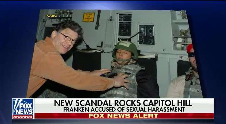 The photo of then comedian Al Franken and Leeann Tweeden-- #SpecialReport