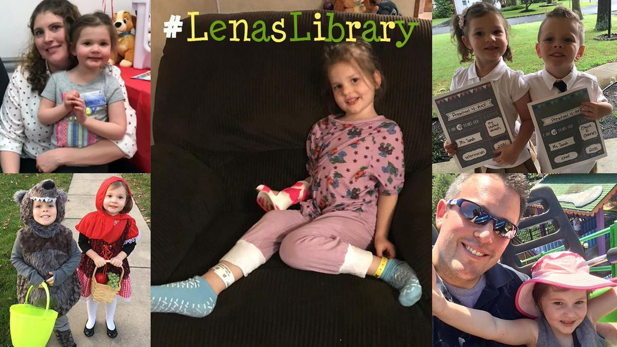 Children's books being sent to 4-year-old New Jersey girl battling inoperable brain tumor