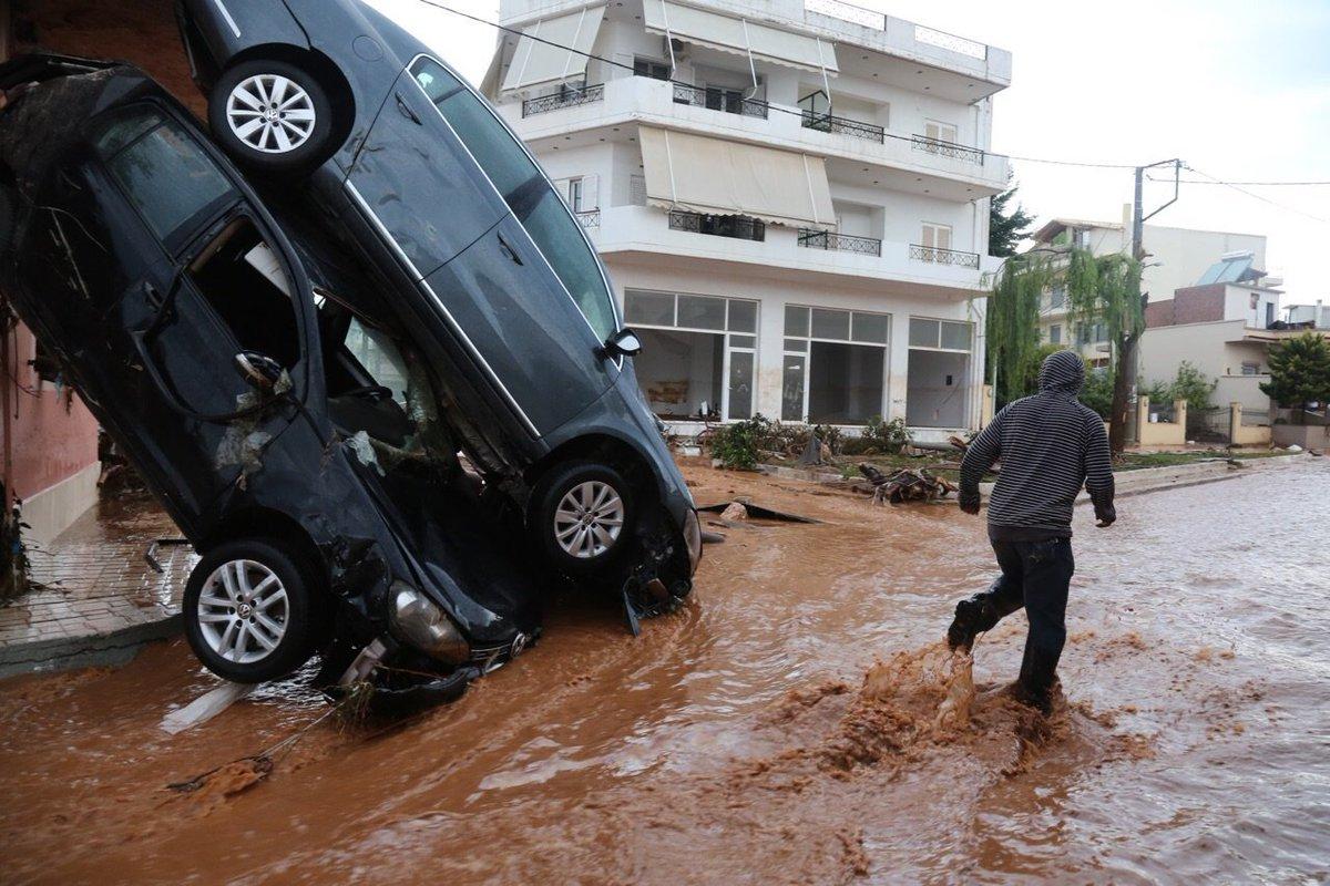 Athens flash floods: 16 dead as rain wreaks havoc on Greekcapital