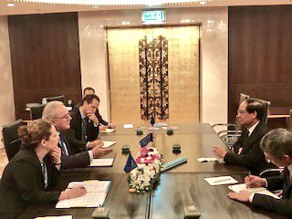 test Twitter Media - Meeting with Secretariat General of #ASEAN Le Luong Minh.   #EU is proud to be a strong political, economic and development partner of ASEAN. Looking forward to taking the partnership on #SustainableDevelopment to an even higher level in the future. https://t.co/xhayCa3jRN
