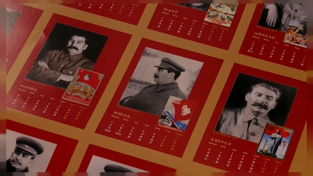 Stalin calendar pulled from sale in Russia