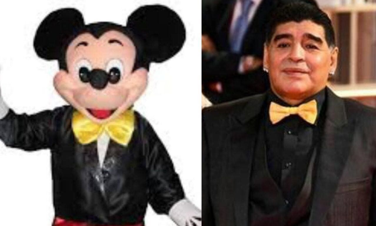 #WorldCupDraw #SorteoMundial Maradona, encuentra las diferen... Olvidenlo!! #FelizViernes https://t.co/gvP88DhbAD
