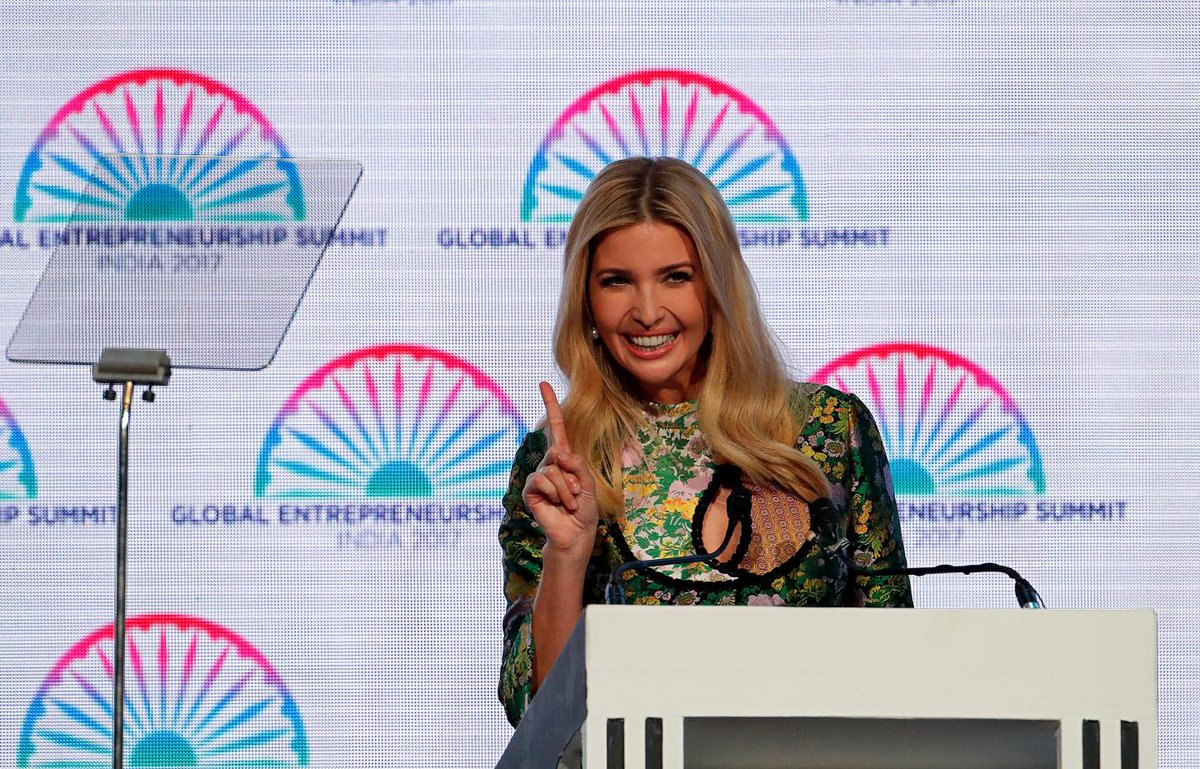 Ivanka Trump plagiarizes one of her own speeches in India