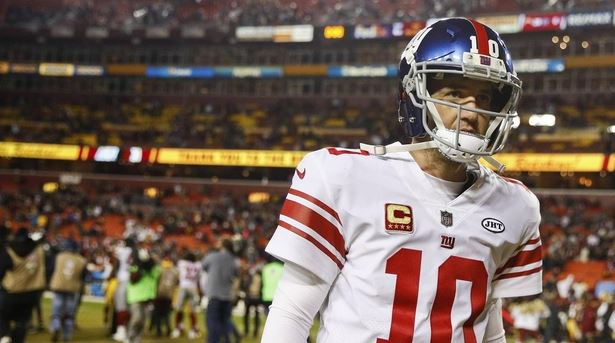 Eli Manning benched by New York @Giants, ending 210-game starting @Globe_Sports