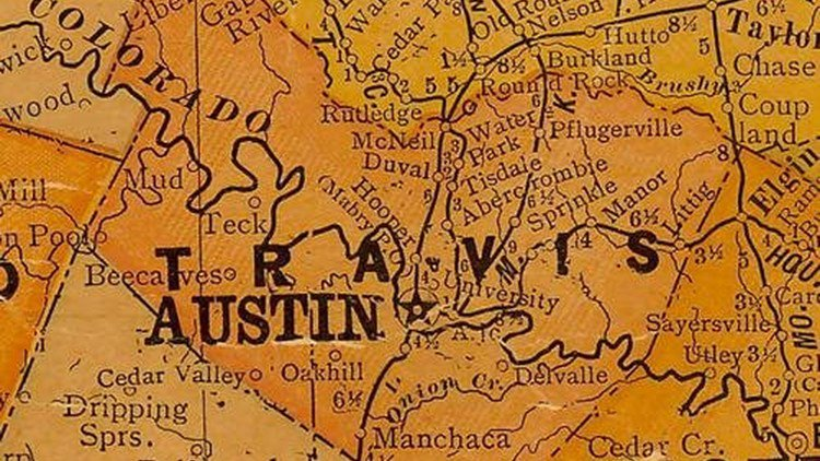 AUSTIN ANSWERED: Why is the Travis/Williamson county line so crooked?