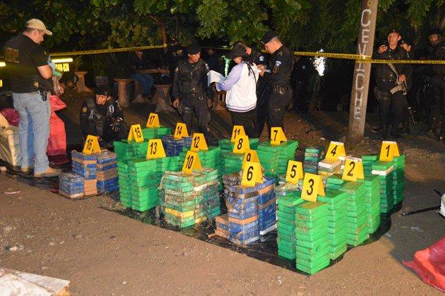 Guatemaltecos supuestamente transportaban 250 kilogramos de cocaína en Nicaragua