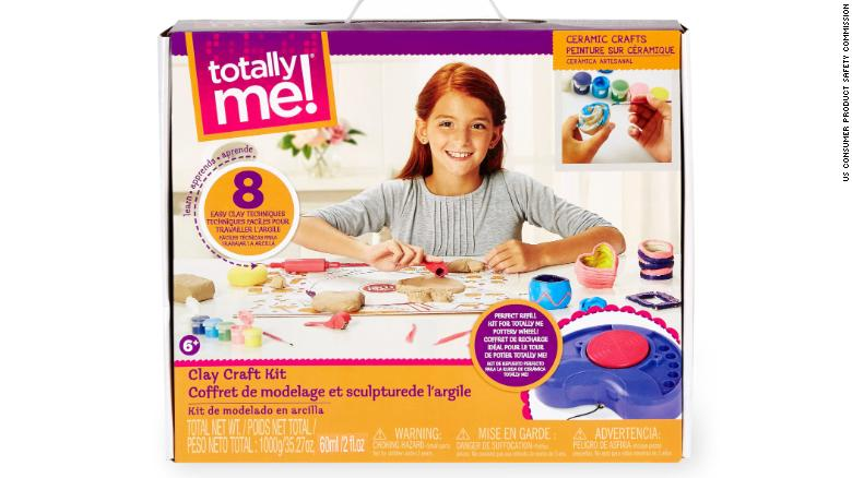 Recall alert! 6,000 clay craft kits being recalled by Toys 'R' Us over mold risk