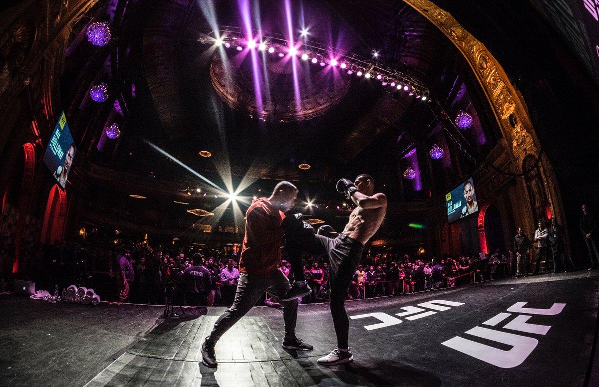 #UFC218 open workouts ✅ (@ The @FillmoreDetroit in Detroit, MI) https://t.co/hos7anjfyQ