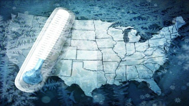 Very cold air coming after major weather pattern change