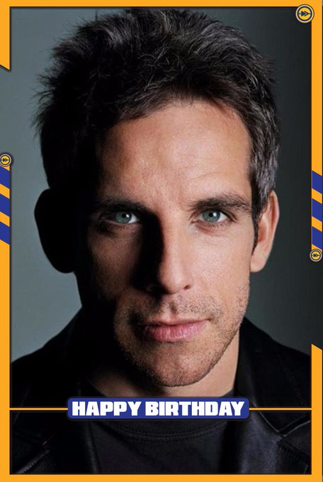 Happy birthday to the Hollywood actor, Ben Stiller!!!