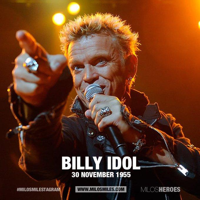 Happy Birthday Billy Idol (30.11.55)