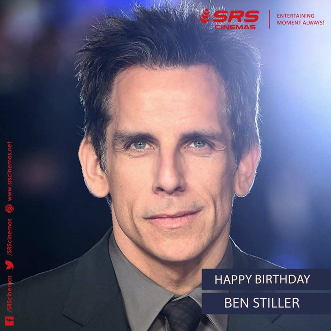 Wishing Ben Stiller a very happy birthday!