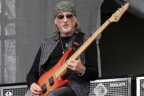 Happy Birthday 72nd Roger Glover Bassist hard rock bands Deep Purple and Rainbow