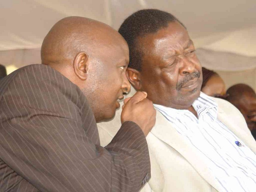 Jubilee using Osotsi to 'silence' Mudavadi before 2022, claims ANC chair