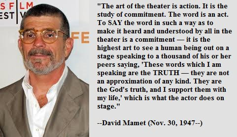 Happy birthday, David Mamet!